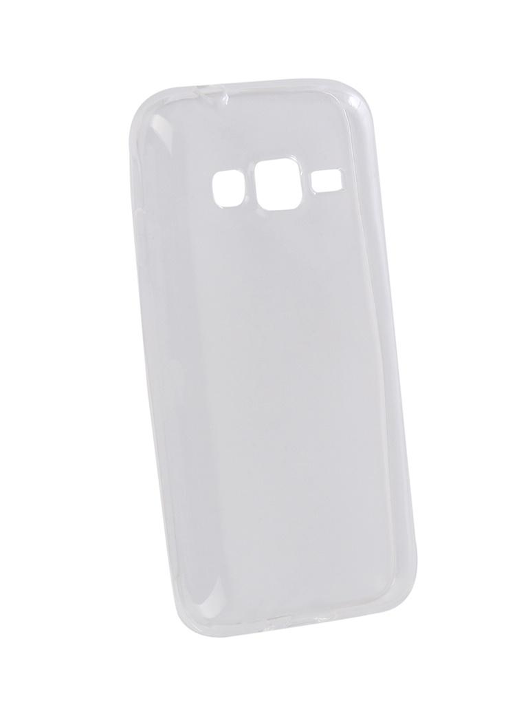 Аксессуар Чехол Pero для Samsung Galaxy J1 Mini Prime Silicone Transparent PRSLC-J1MPTR