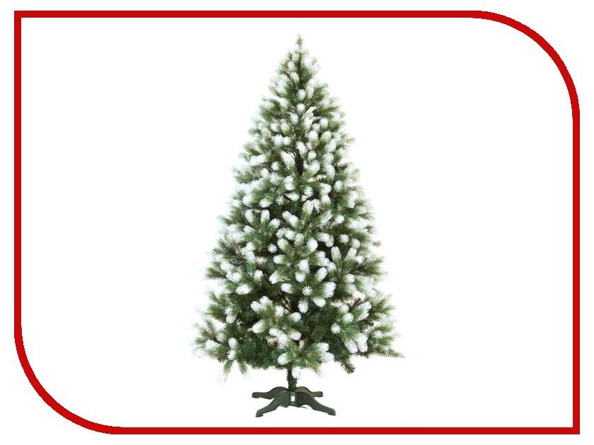 Ель Наша Ёлка Полярная 130cm Green-White ПОЛ-130 ель наша ёлка элит 130cm green light green эл 130