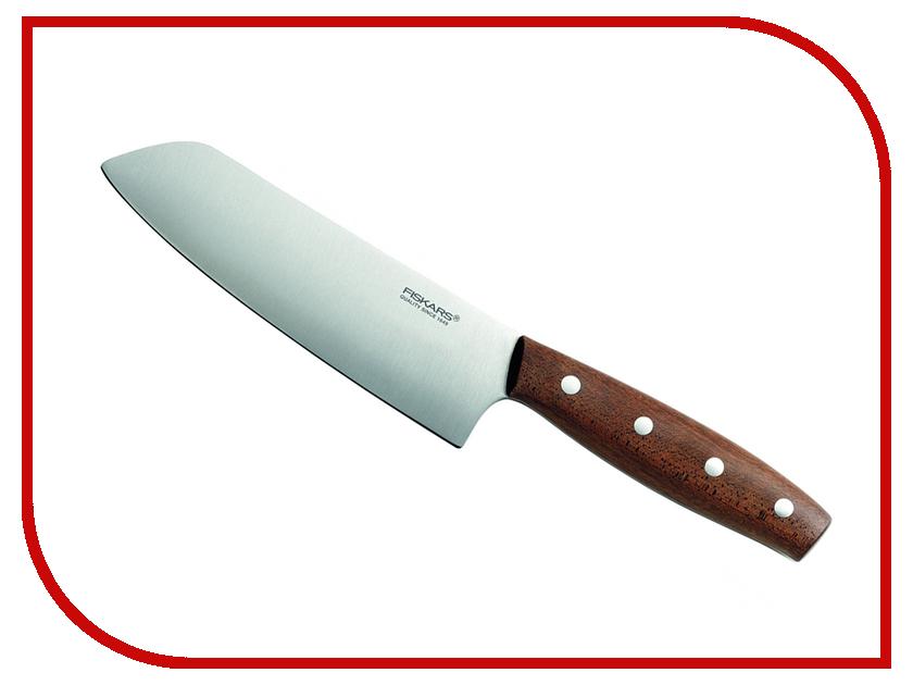 Нож Fiskars Norr 1016474 Сантоку - длина лезвия 160мм нож fiskars norr 1016474 сантоку длина лезвия 160мм