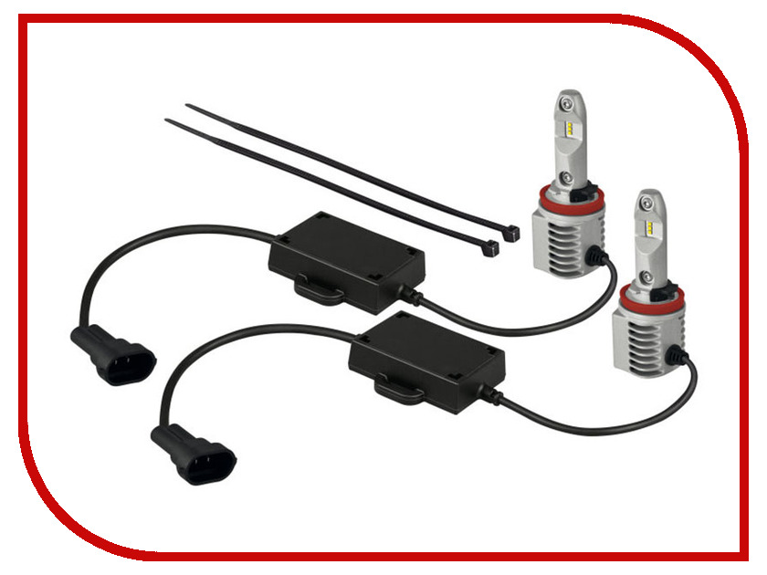 Лампа OSRAM H11 LEDriving HL 12V PGJ19-2 65211CW лампа светодиодная osram h10 12v led py20d 6000k ledriving fog lamp к уп 2 шт 9645cw