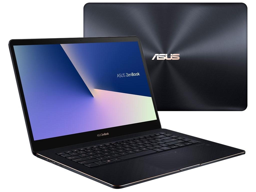 Ноутбук ASUS Zenbook Pro UX550GE-BN029R 90NB0HW3-M00430 Deep Dive Blue (Intel Core i5-8300H 2.3 GHz/8192Mb/512Gb SSD/nVidia GeForce GTX 1050Ti 4096Mb/Wi-Fi/Bluetooth/Cam/15.6/1920x1080/Windows 10 64-bit)