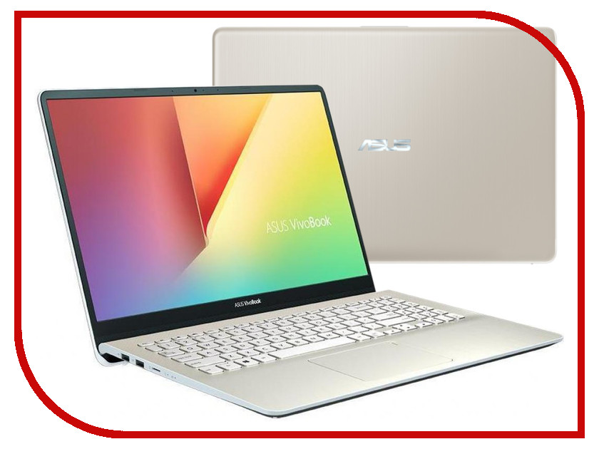 Ноутбук ASUS VivoBook S15 S530UN-BQ357R 90NB0IA6-M06010 Icicle Gold (Intel Core i7-8550U 1.8 GHz/16384Mb/1000Gb + 128Gb SSD/No ODD/nVidia GeForce MX150 2048Mb/Wi-Fi/Bluetooth/Cam/15.6/1920x1080/Windows 10 64-bit)