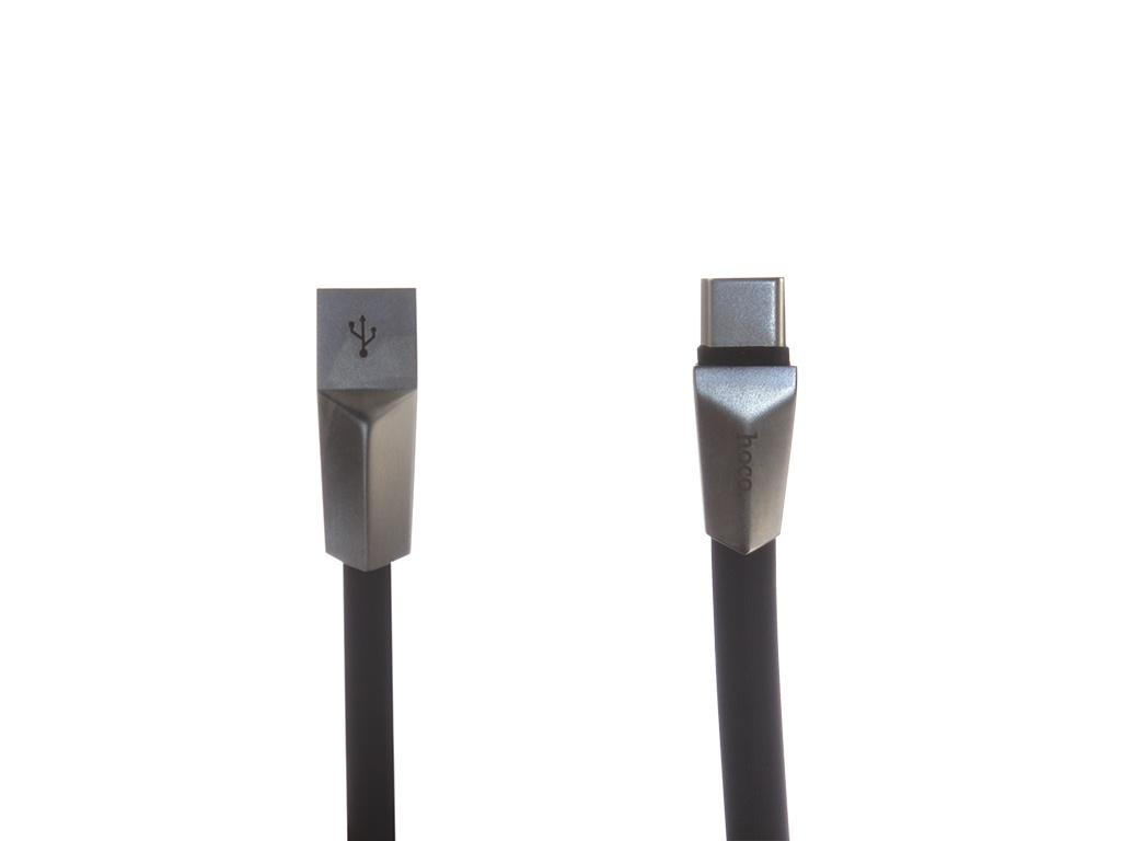 Аксессуар Hoco Zinc Alloy Rhombus X4a USB - Type-C Black