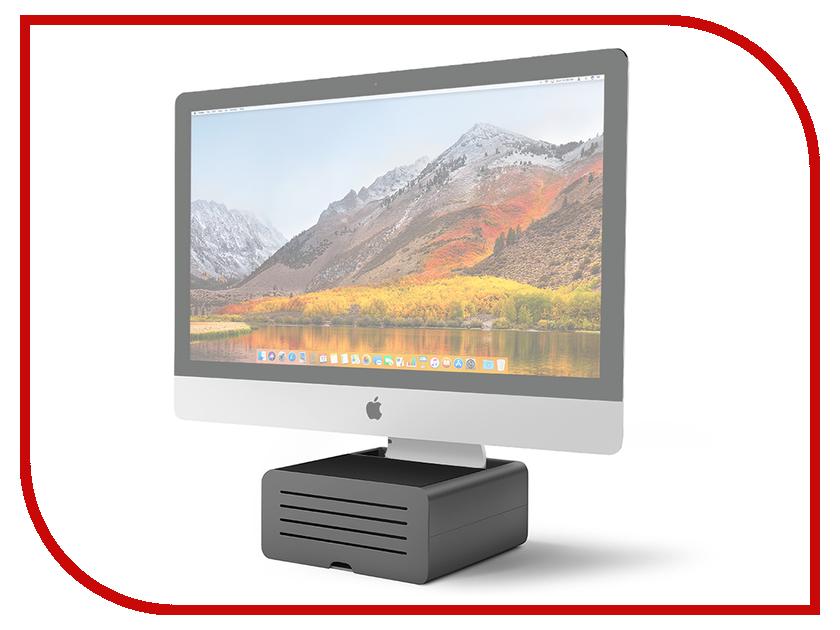 Аксессуар Подставка Twelve South HiRise Pro для iMac / Apple Display Black-Silver 12-1719 cute south park mini display figure toys 5 piece pack
