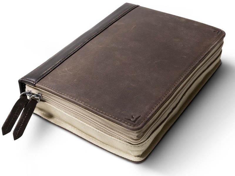 Папка-органайзер Twelve South BookBook CaddySack Dark Brown 12-1729 аксессуар чехол twelve south pencilsnap для apple pencil brown 12 1747