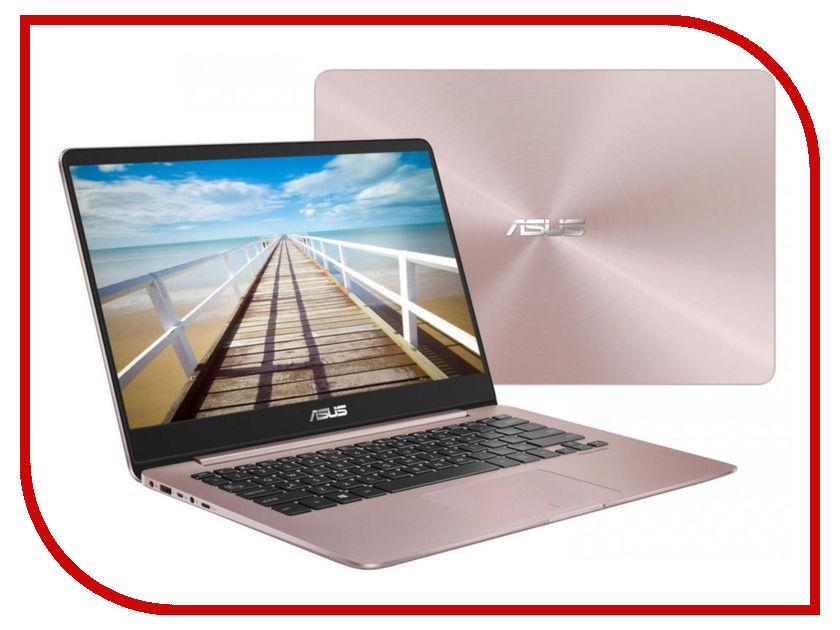 Ноутбук ASUS Zenbook UX430UN-GV203T 90NB0GH4-M05250 Pink (Intel Core i5-8250U 1.6 GHz/8192Mb/512Gb SSD/No ODD/nVidia GeForce MX150 2048Mb/Wi-Fi/Bluetooth/Cam/14.0/1920x1080/Windows 10 64-bit)