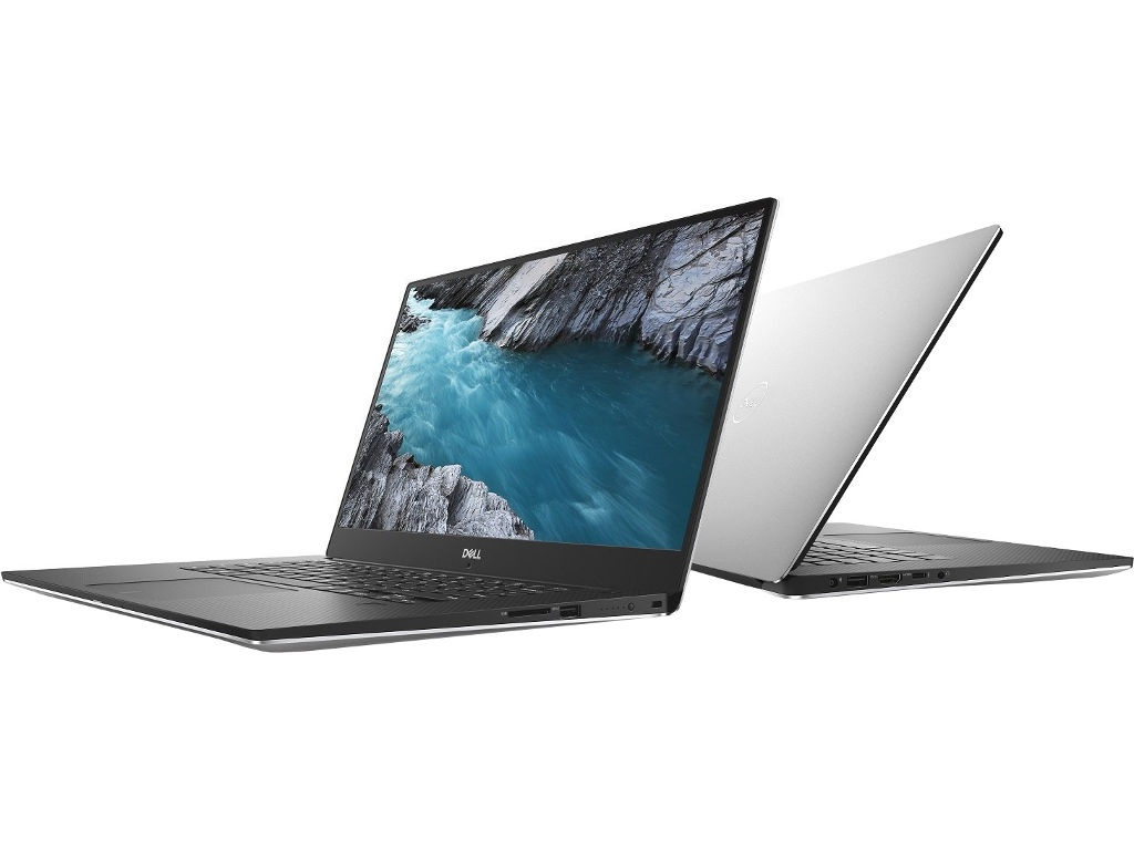 Ноутбук Dell XPS 15 9570-5413 Silver (Intel Core i5-8300H 2.3 GHz/8192Mb/1000Gb + 128Gb SSD/nVidia GeForce GTX 1050 4096Mb/Wi-Fi/Cam/15.6/1920x1080/Windows 10 64-bit)