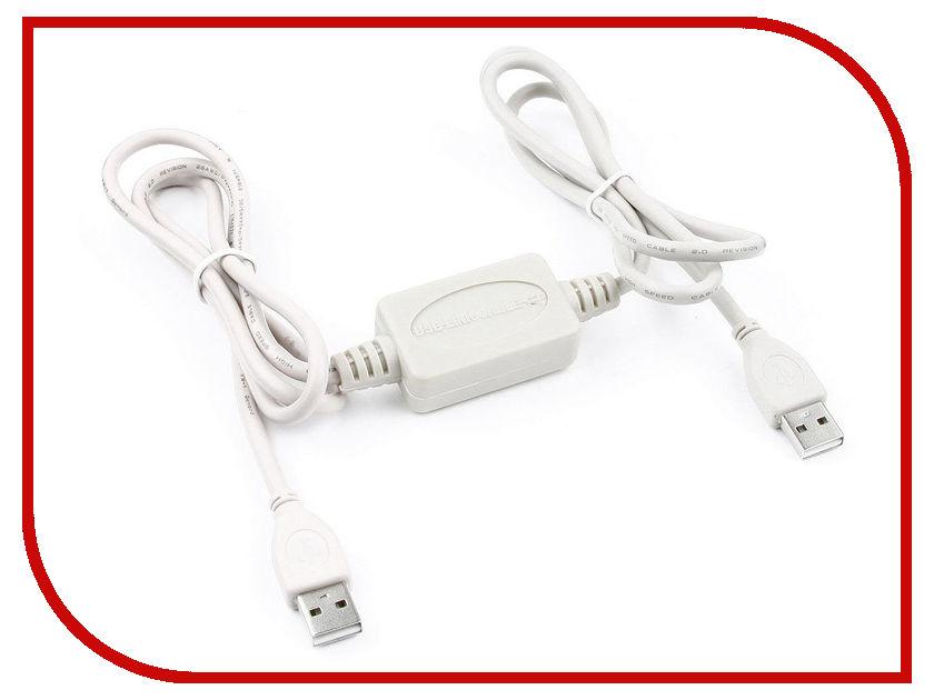 Аксессуар Gembird Cablexpert USB 2.0 Link AM/AM 1.8m UANC22V7 аксессуар 5bites usb 3 0 am micro 9pin 0 5m tc303 05