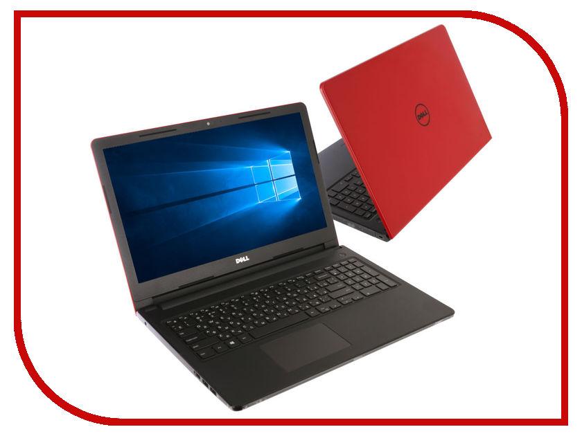 Ноутбук Dell Inspiron 3573 3573-6038 Red (Intel Celeron N4000 1.1 GHz/4096Mb/500Gb/DVD-RW/Intel HD Graphics/Wi-Fi/Cam/15.6/1366x768/Windows 10 64-bit) ноутбук dell inspiron 3573 3573 6014 red intel celeron n4000 1 1 ghz 4096mb 500gb dvd rw intel hd graphics wi fi cam 15 6 1366x768 linux