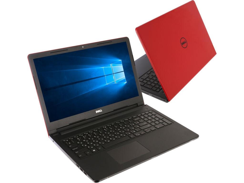 Ноутбук Dell Inspiron 3573 3573-6038 Red (Intel Celeron N4000 1.1 GHz/4096Mb/500Gb/DVD-RW/Intel HD Graphics/Wi-Fi/Cam/15.6/1366x768/Windows 10 64-bit) ноутбук dell inspiron 3573 3573 5468 black intel celeron n4000 1 1 ghz 4096mb 500gb dvd rw intel hd graphics wi fi bluetooth cam 15 6 1366x768 windows 10 64 bit