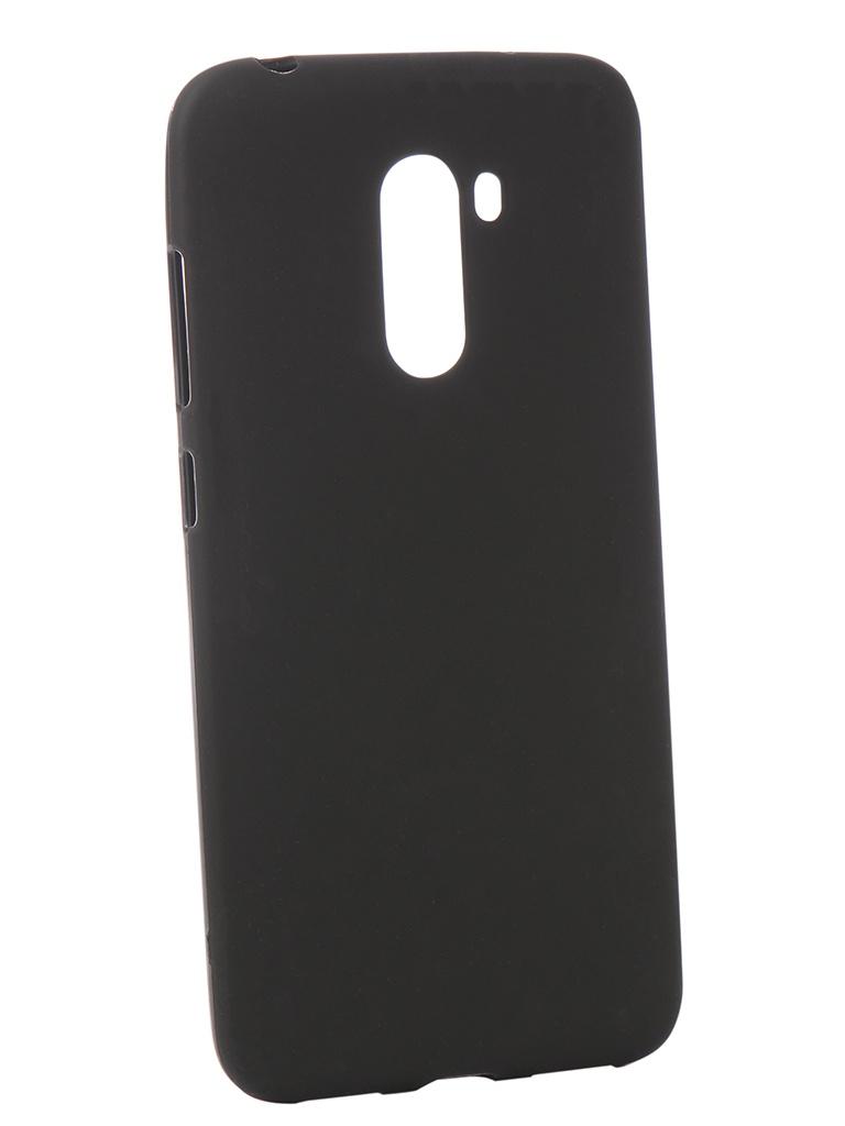 Аксессуар Чехол Zibelino для Xiaomi Pocophone F1 Soft Matte Black ZSM-XIA-F1-BLK аксессуар чехол zibelinoдляxiaomi