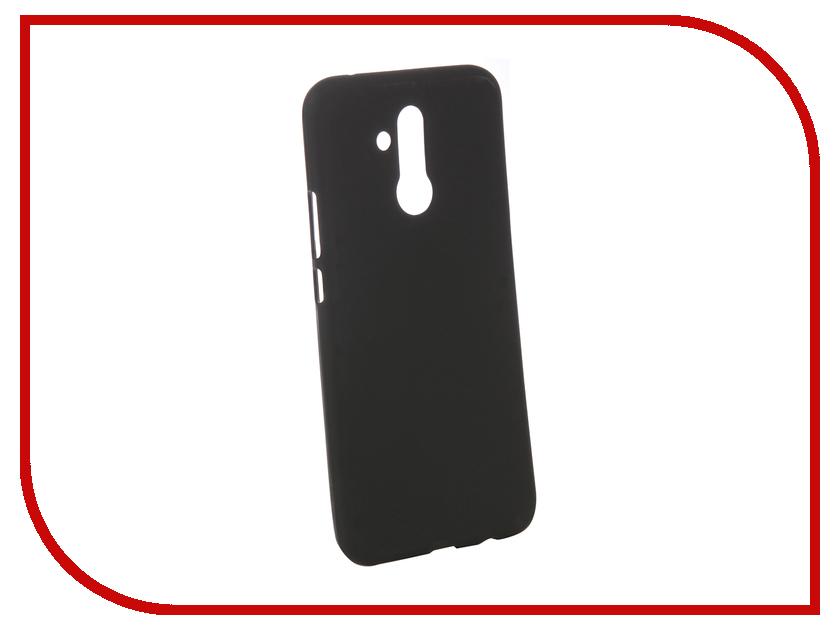 Аксессуар Чехол для Huawei Mate 20 Lite Zibelino Soft Matte Black ZSM-HUA-MAT20-BLK смартфон huawei mate 20 lite 64 гб черный 51092qtt