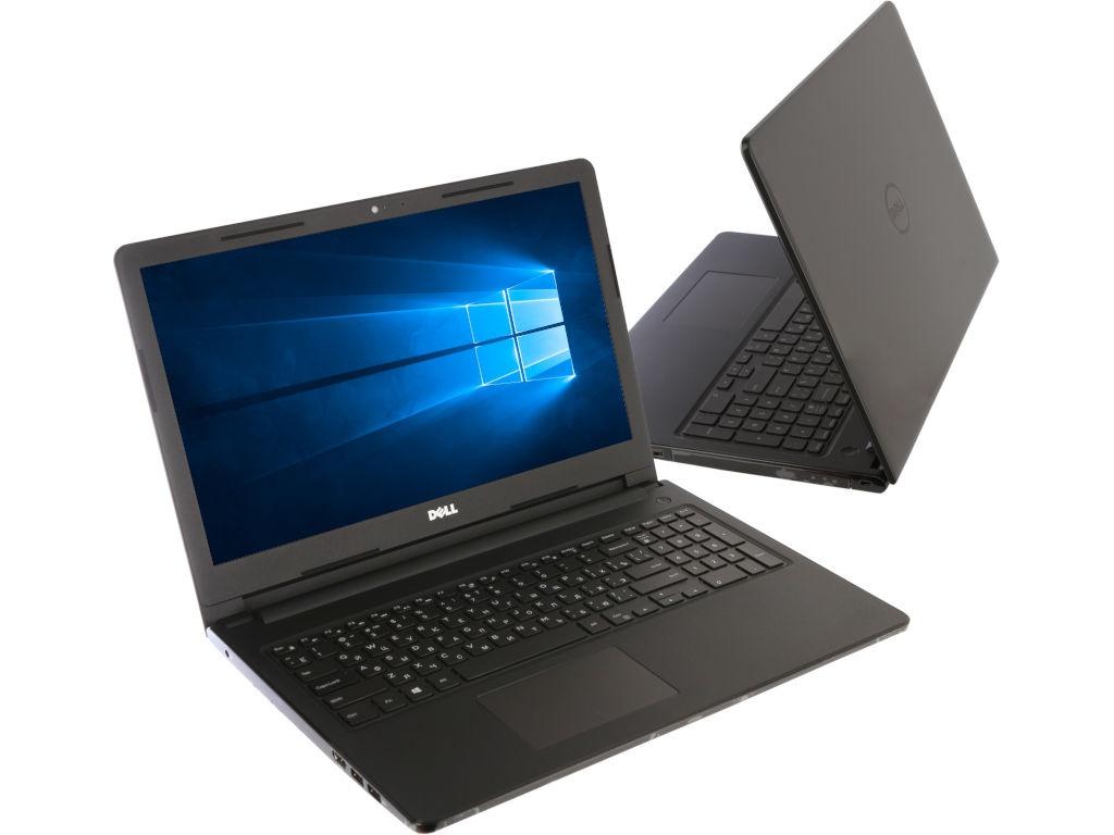 Ноутбук Dell Inspiron 3573 3573-6021 Gray (Intel Celeron N4000 1.1 GHz/4096Mb/500Gb/DVD-RW/Intel HD Graphics/Wi-Fi/Cam/15.6/1366x768/Windows 10 64-bit) packard bell entg81ba c9wv intel celeron n3050 1600 mhz 15 6 1366x768 2048mb 500gb hdd dvd rw intel® hd graphics wifi windows 10 x64