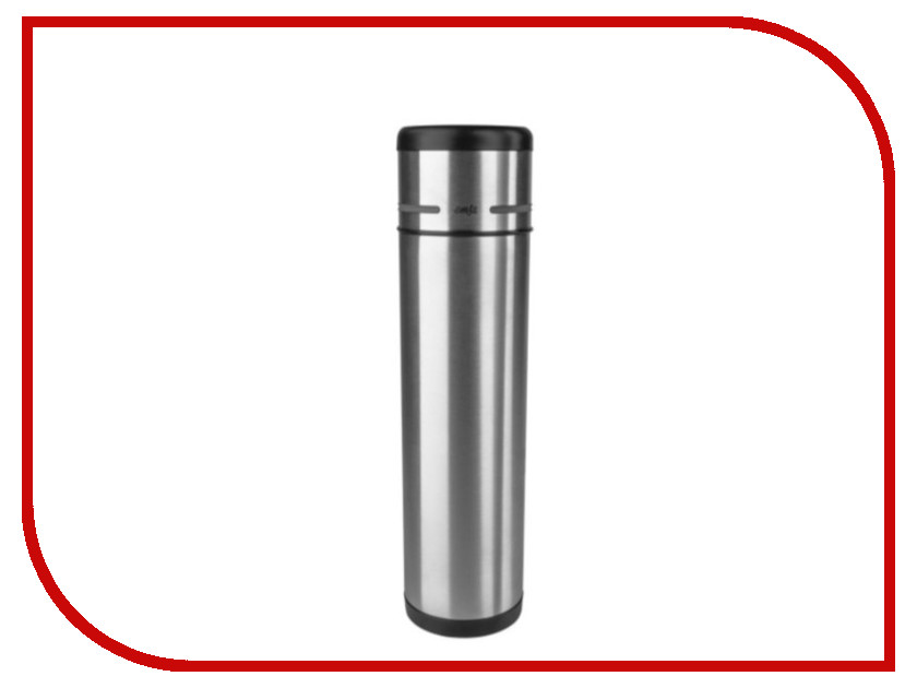 Термос EMSA Mobility (1 л) Black-Steel