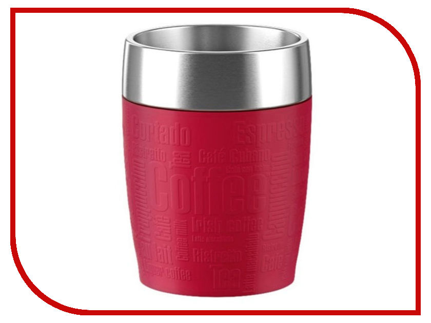 Термокружка Emsa Travel Cup 200ml Red 515681