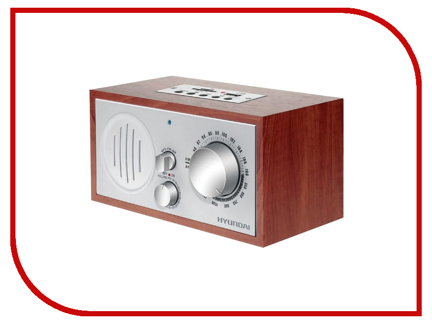цена на Радиоприемник Hyundai H-SRS160 Cherry