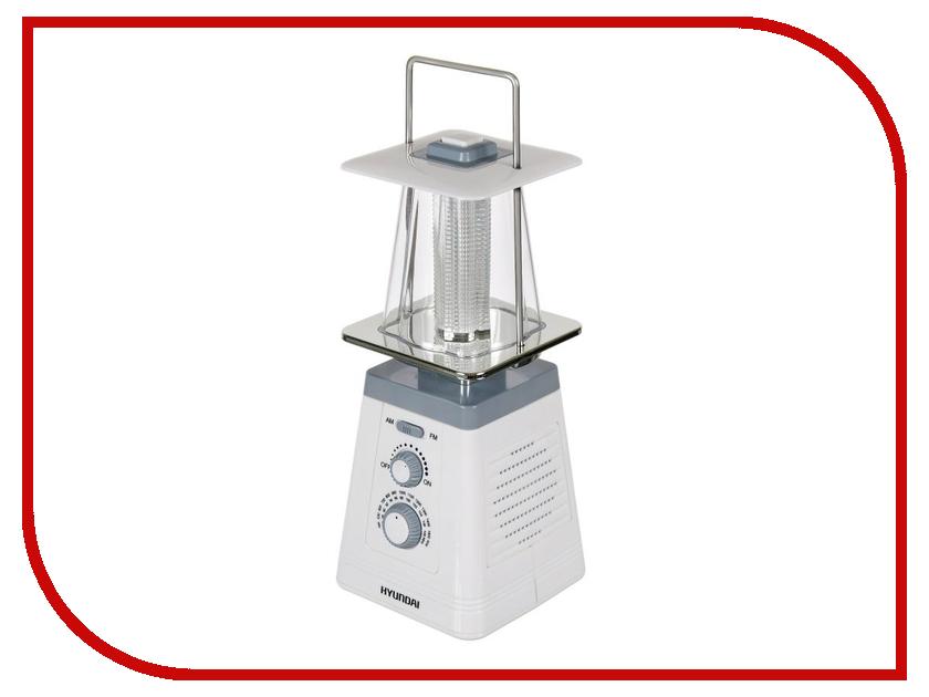 Радиоприемник Hyundai H-RLC150 White радиоприемник hyundai h rlc150 белый