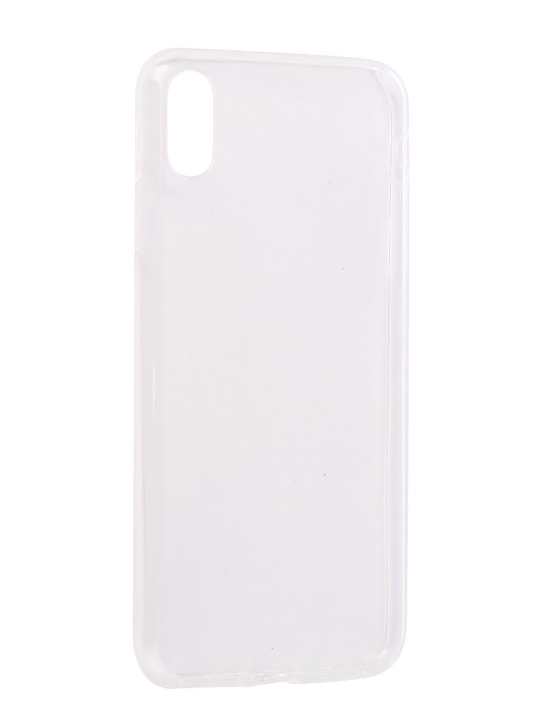 Аксессуар Чехол Innovation для APPLE iPhone XS Max Silicone 0.3mm Transparent 12857 аксессуар чехол для apple iphone xs max innovation book silicone magnetic gold 13365