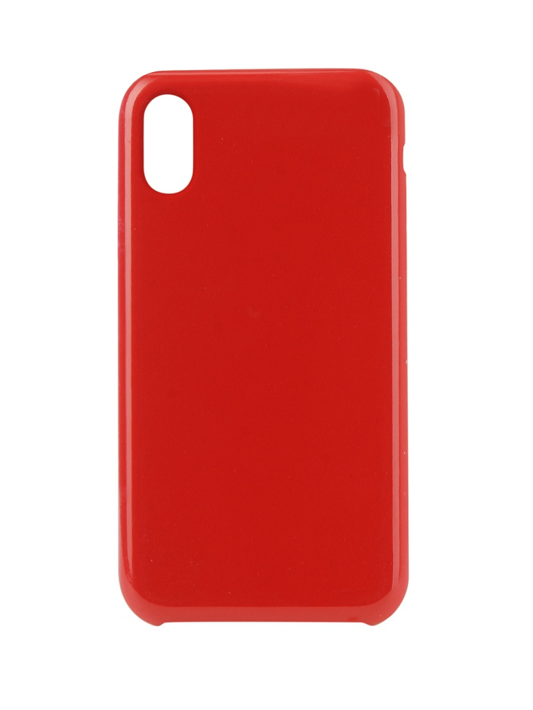 Аксессуар Чехол Innovation для APPLE iPhone XR Silicone Red 12844 аксессуар чехол innovation для apple iphone 7 8 silicone case red 10288