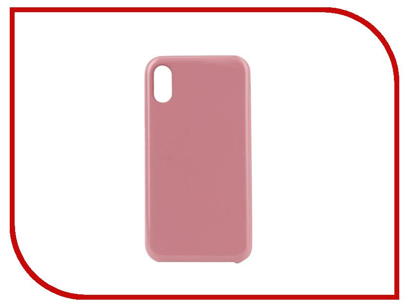 Аксессуар Чехол для APPLE iPhone XR Innovation Silicone Pink 12847 аксессуар чехол для huawei p smart 7s innovation silicone pink 12840