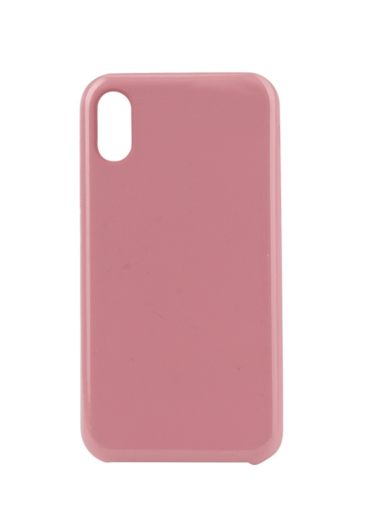 Аксессуар Чехол Innovation для APPLE iPhone XR Silicone Pink 12847 аксессуар чехол для apple iphone x innovation silicone case dark pink 10632