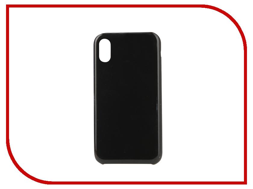 Аксессуар Чехол для APPLE iPhone XR Innovation Silicone Black 12842 аксессуар чехол для apple iphone x innovation silicone black 12214