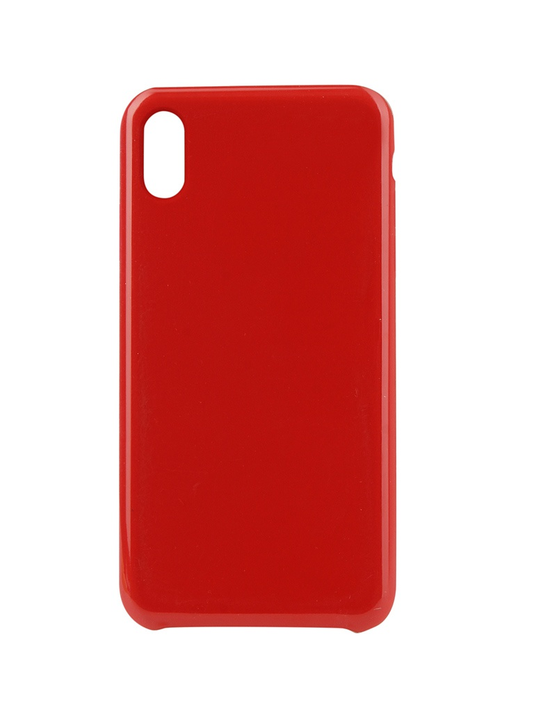 Аксессуар Чехол Innovation для APPLE iPhone XS Max Silicone Red 12851 аксессуар чехол для apple iphone x innovation silicone case red 10302