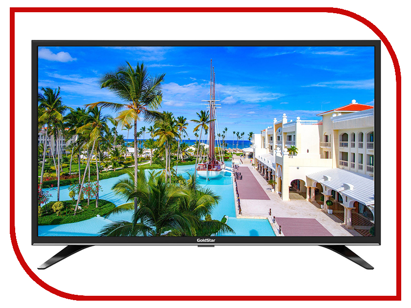 Телевизор GoldStar LT-32T510R жк телевизор goldstar lt 50t450f