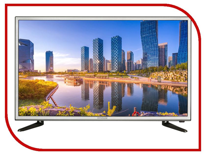 Телевизор Hyundai H-LED32R503GT2S автомобильный телевизор hyundai h lcd1000 10 черный