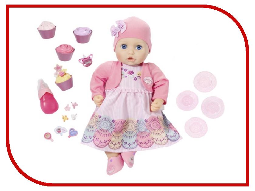 Кукла Zapf Creation Baby Anabelle Праздничная 43 см 700-600 кукла zapf creation baby annabell учимся ходить 43 см 700 136