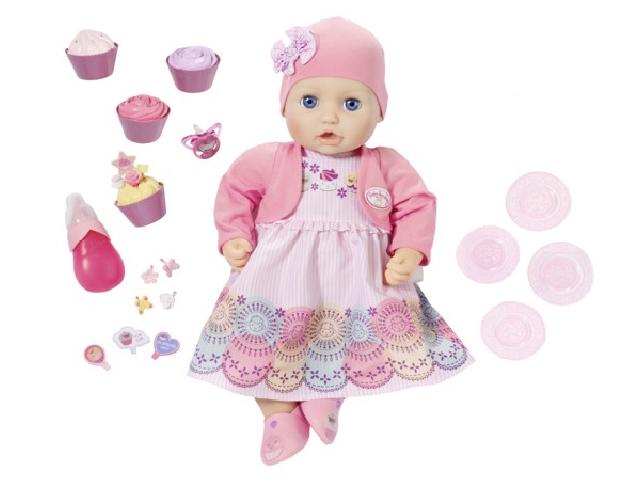 Кукла Zapf Creation Baby Anabelle Праздничная 43 см 700-600