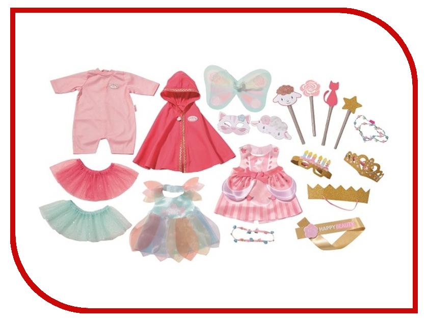 Одежда для куклы Zapf Creation Baby Annabell Костюмы для вечеринки 700-693 zapf creation аксессуар для куклы baby annabell соска с цепочкой цвет розовый