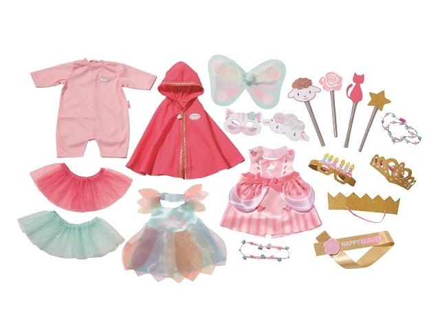 Одежда для куклы Zapf Creation Baby Annabell Костюмы для вечеринки 700-693 zapf creation одежда для куклы my first baby annabell zapf creation розового цвета 36 см