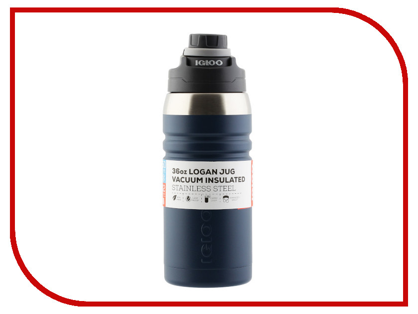 Термос Igloo Logan 36 1L Blue 00070259