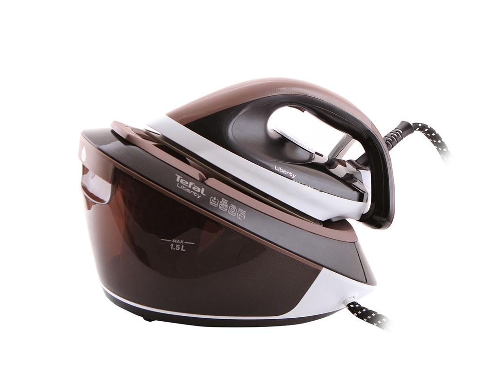 Утюг Tefal SV7040 Liberty White-Black