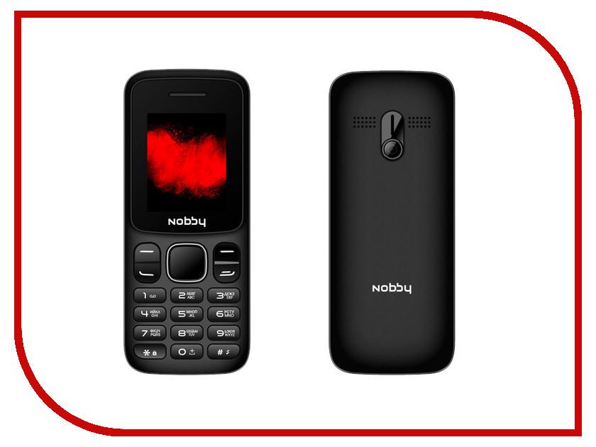 Фото - Сотовый телефон Nobby 101 Black-Gray проводной и dect телефон foreign products vtech ds6671 3