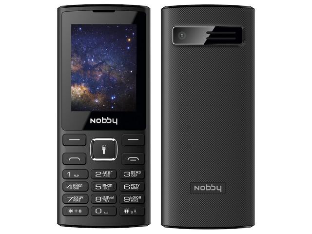 Сотовый телефон Nobby 210 Black сотовый телефон strike f10 black
