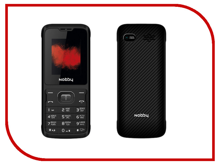 Сотовый телефон Nobby 110 Black-Gray