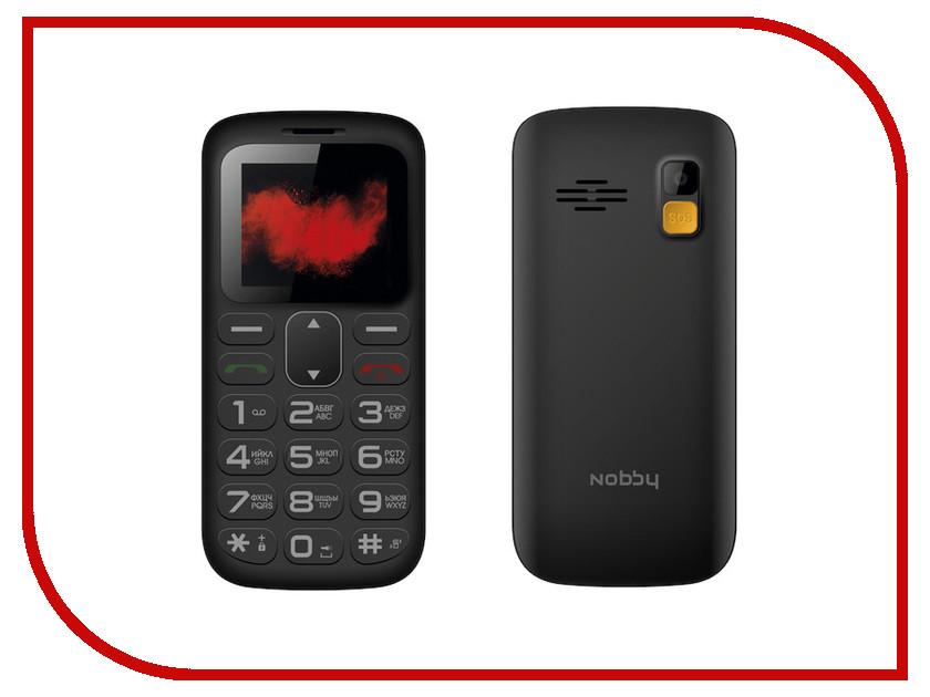 Фото - Сотовый телефон Nobby 170B Black проводной и dect телефон foreign products vtech ds6671 3