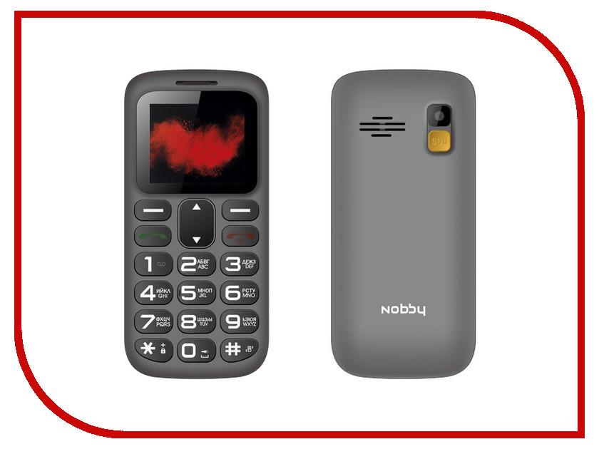 Сотовый телефон Nobby 170B Grey телефон
