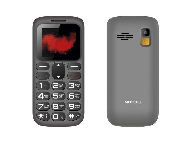 Сотовый телефон Nobby 170B Grey