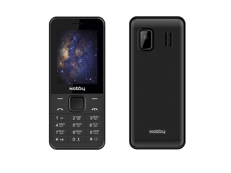 Сотовый телефон Nobby 200 Black