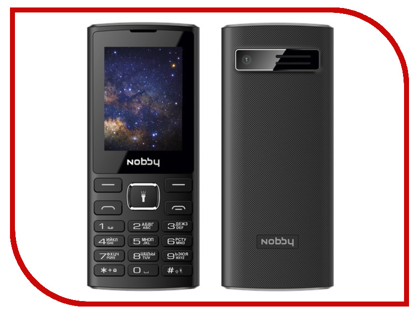 Фото - Сотовый телефон Nobby 210 Black-Gray проводной и dect телефон foreign products vtech ds6671 3