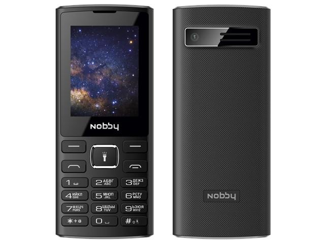 Сотовый телефон Nobby 210 Black-Gray