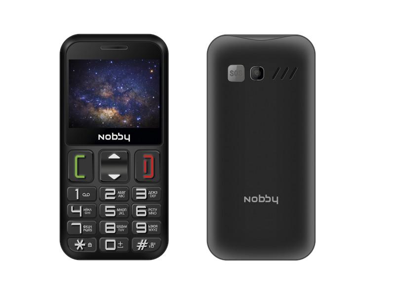 Сотовый телефон Nobby 240B Black телефон