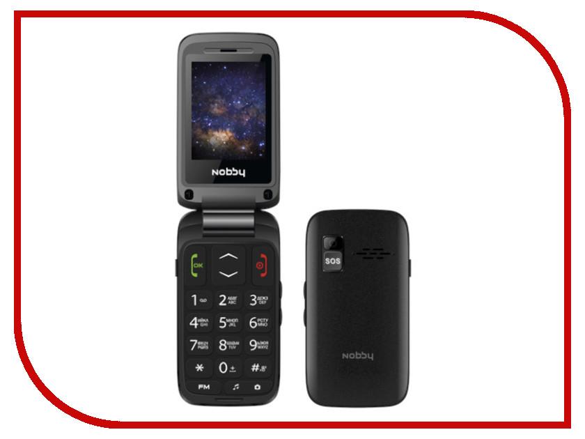 Сотовый телефон Nobby 240C Black сотовый телефон nobby 240b black grey