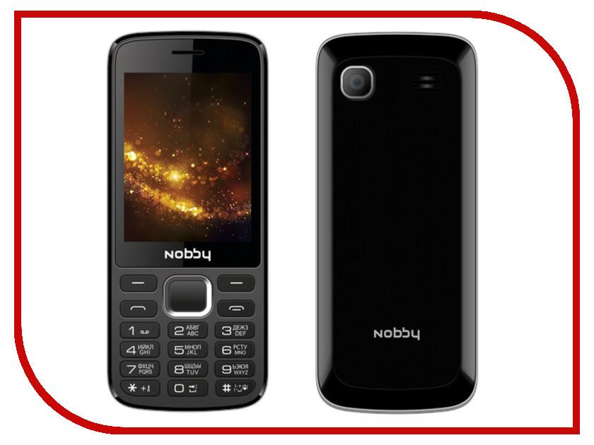 Сотовый телефон Nobby 300 Black-Gray 300