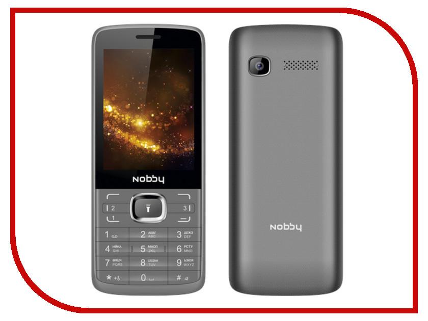 Сотовый телефон Nobby 330T Grey-Black сотовый телефон jinga simple f215 black