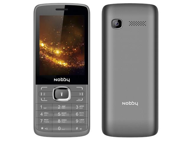 Сотовый телефон Nobby 330T Grey-Black