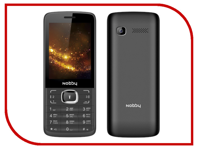 Сотовый телефон Nobby 330T Black-Grey сотовый телефон archos sense 55dc 503438